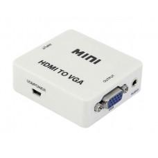 Конвертер видеосигнала HDMI-VGA