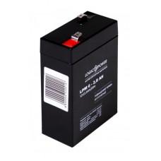 Аккумуляторная батарея LogicPower 6V 2.8 Ah