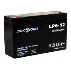 Аккумуляторная батарея LogicPower 6V 12 Ah