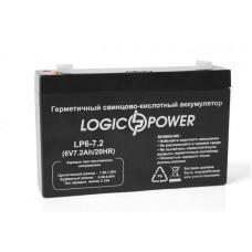 Аккумуляторная батарея LogicPower 6V 7,2 Ah
