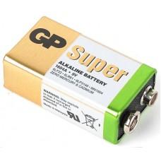 Батарейка GP Super Alkaline 9V 1604A