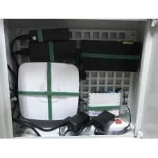 Бокс комуникационный Cifra V 2.0 (450х400х150) + пластина монтажная перф.