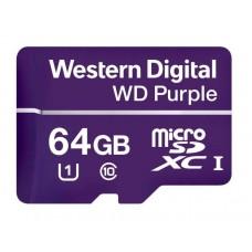 Карта памяти microSDHC 64GB UHS-I WDD064G1P0A WDC
