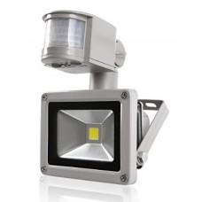 LED прожектор 10W с датчиком