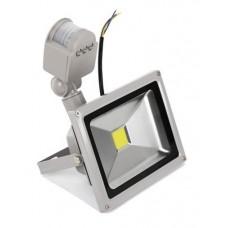 LED прожектор 20W с датчиком