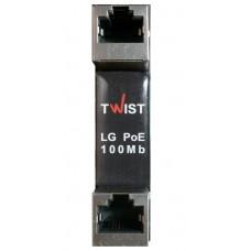 TWIST LG-PoE-100Mb-2U (устройство защиты сетевого порта)