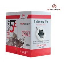 Кабель Kraft FTP 4х2х0.50 (CCA) внутренний